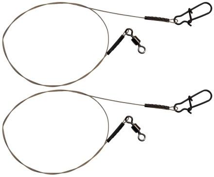 FTM Seika Pro Stahlvorfach 30cm 2 Stahlvorf/ächer Zum Spinnfischen Vorf/ächer Zum Hechtangeln Hechtvorfach Zum Spinnangeln