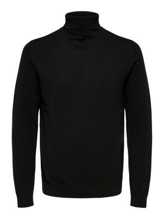 Selected Herren Rollkragen Pullover SLHBERG ROLL NECK S M L XL XXL Baumwolle