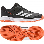 Adidas Sneaker Turnschuhe Sportschuhe Hallenschuhe Klett Gr