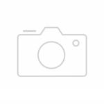 Küchen-Unterschrank BERLIN - 2-türig - 100 cm breit - Hochglanz Rot / Eiche  Sonoma